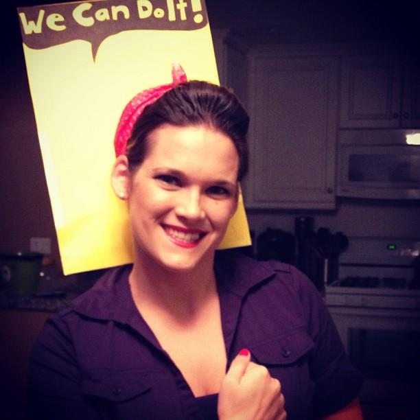 Me, representing female empowerment.